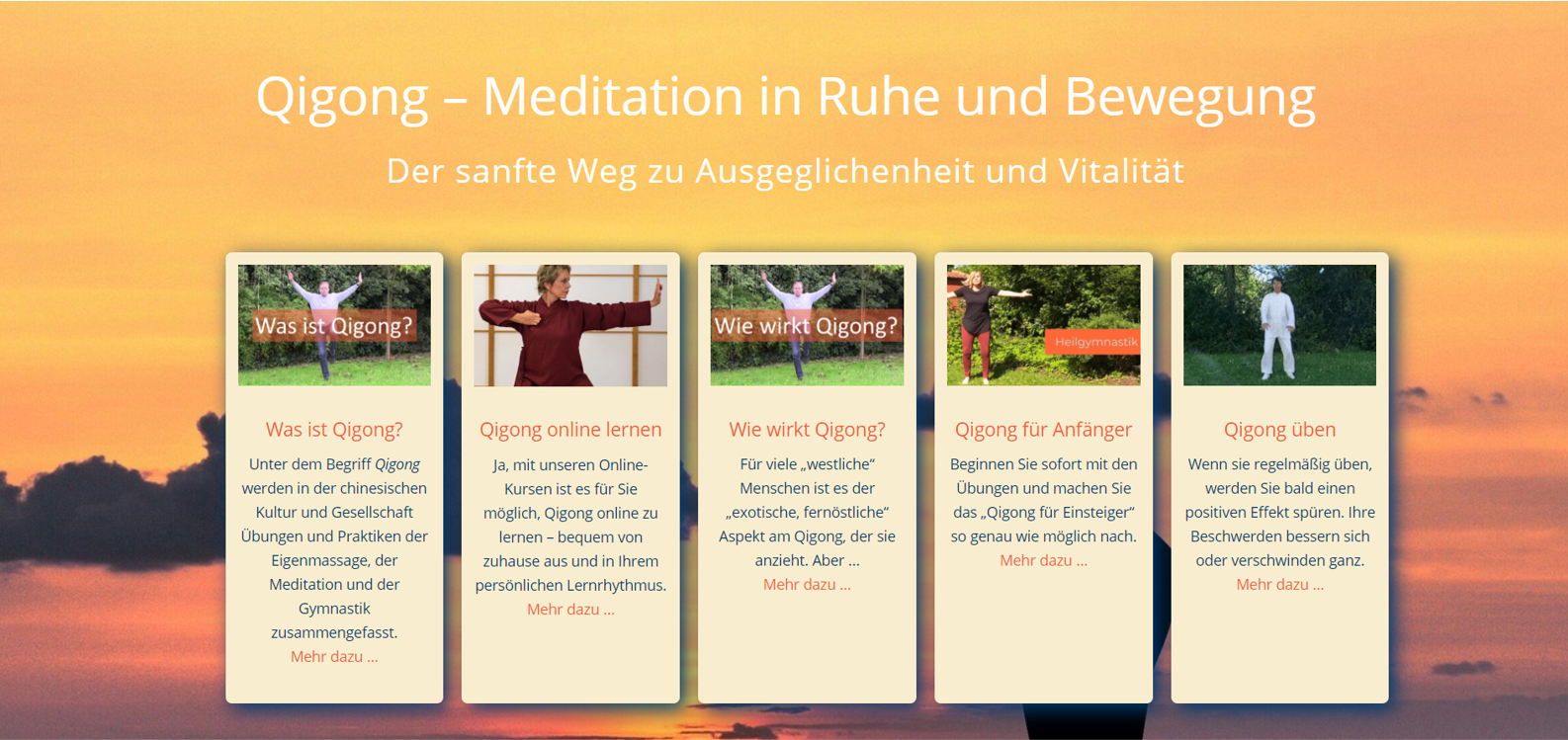 "Website ""Qigong"""